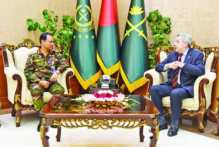 Brazilian Ambassador calls on Army Chief