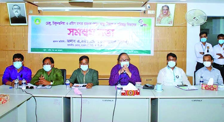 All-out measures to curb dengue, chikungunya in Rajshahi