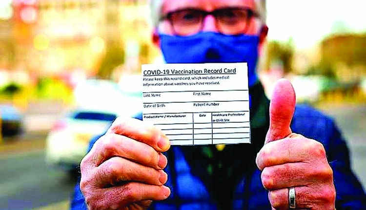 'Less than 1pc of fully vaccinated people experience a breakthrough Covid infection'