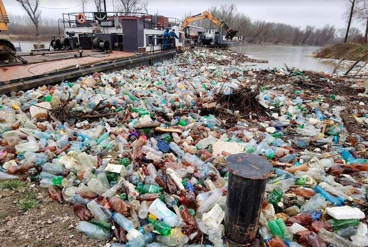 Plastic is one of the causes of water logging in the Dhaka city