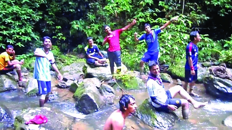 Zingsiam Saitar: The wonderful waterfalls in Bandarban