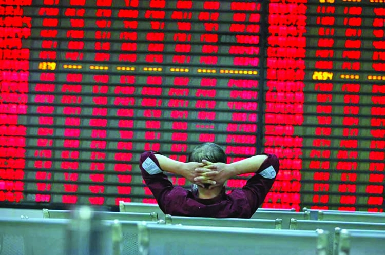 Asian markets down on inflation, energy crunch worries