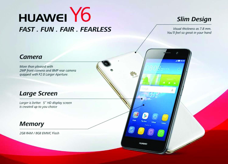 Huawei Y6 Bedienungsanleitung