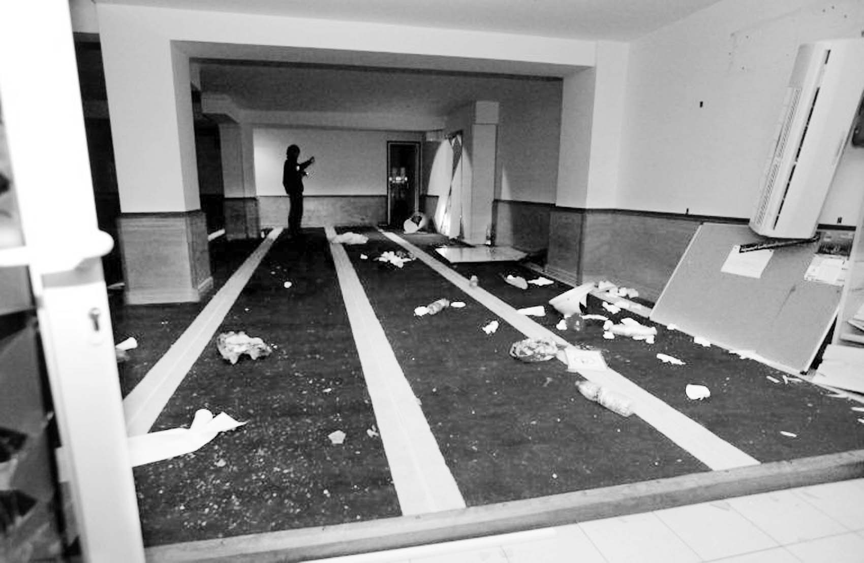 Muslim prayer hall ravaged by Corsican mob on Christmas Day