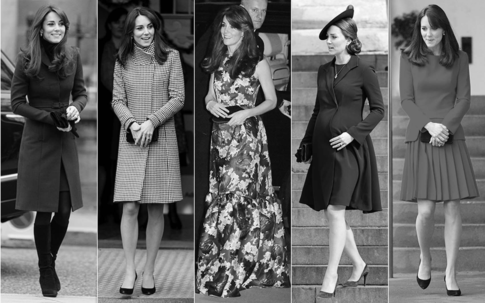 A year of style with Kate Middleton