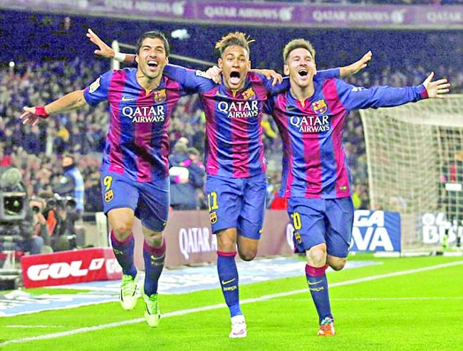 barcelona s msn lineup remains intact