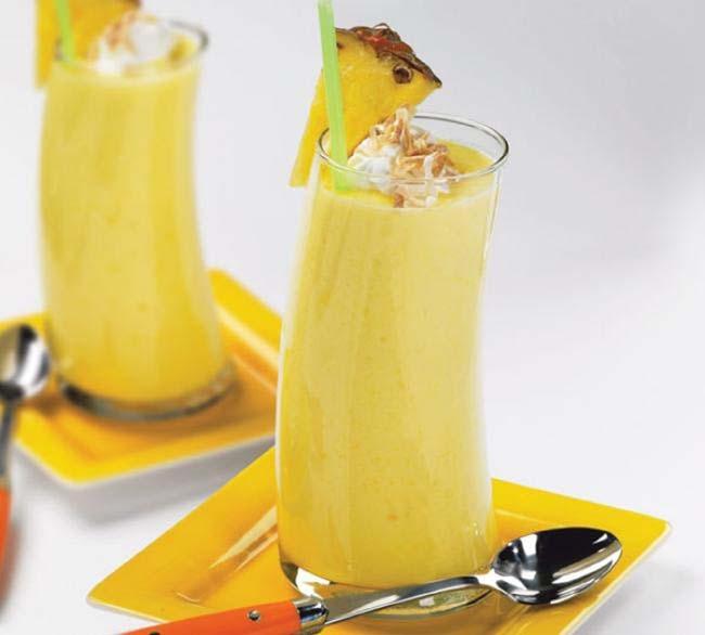 Pineapple & Mango Smoothie