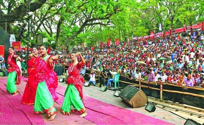 festive mood in pohela boishakh