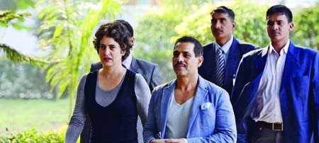 Panel report on Robert Vadra's land deals delayed