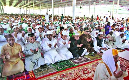 City's main Eid congregation at Jamiatul Falah maidan