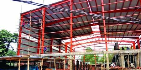 Steel structures gaining popularity in cities