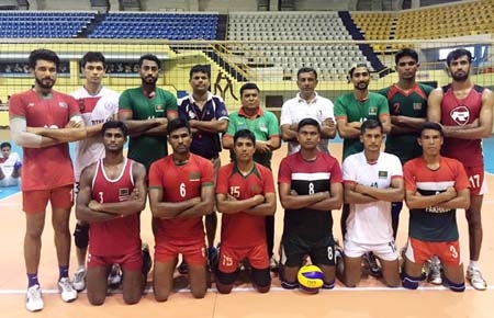 BD Volleyball team to leave for Kyrgyzstan Sunday