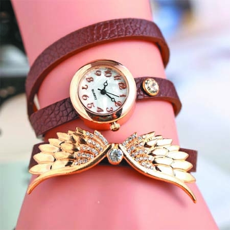 Ladies\'  passion  for costly  watch