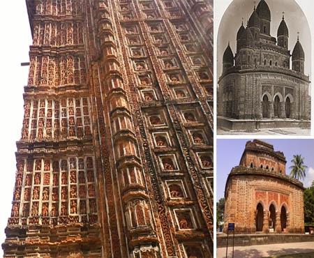 An impressive  Hindu  monument in  Bangladesh