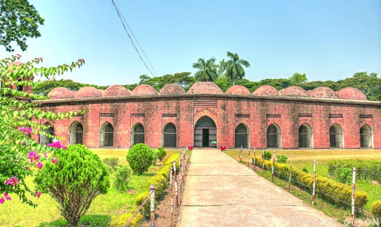 The largest historical mosque in Bangladesh