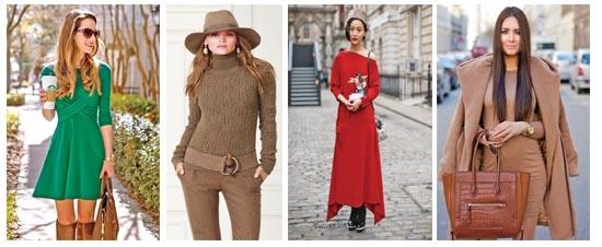 Winter colors in fashion