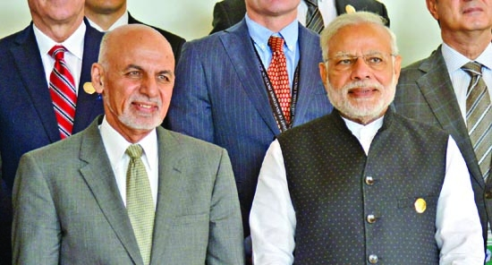 Modi, Ashraf Ghani hold bilateral talks