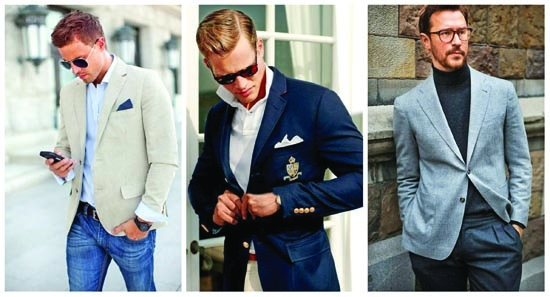 How to wear men's blazer with anything