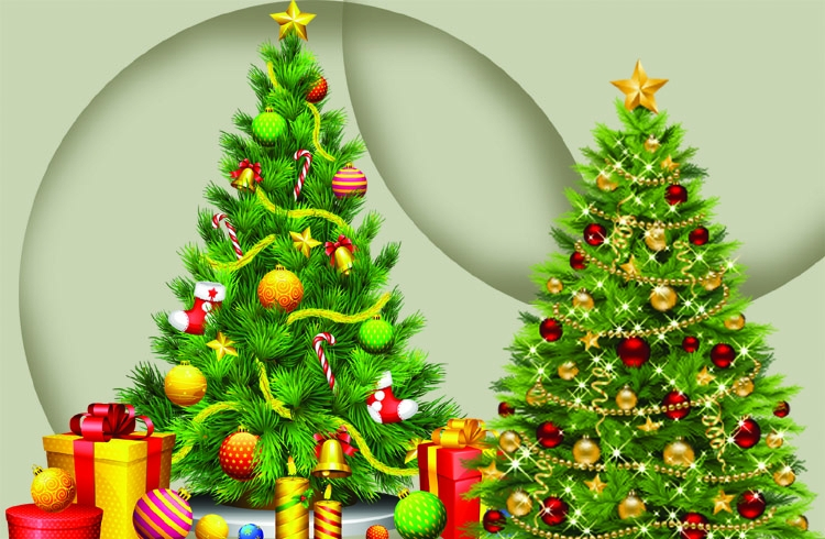 The Christmas tree: Symbol of life,  love and peace