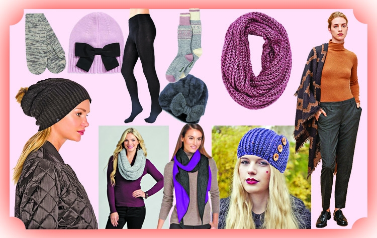 Trendy winter accessories for women