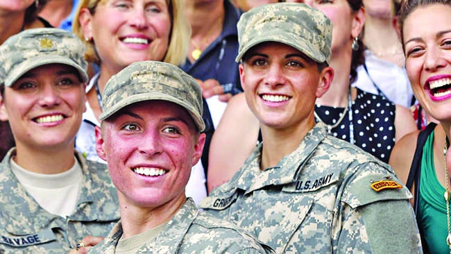 If we really want women in combat, men must do more