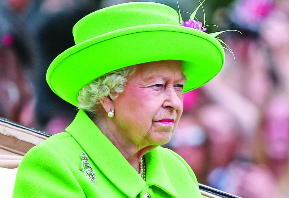 Queen Elizabeth appears in public after heavy cold