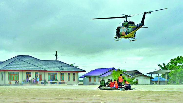 Heavy rain, floods kill 21 in South Thailand
