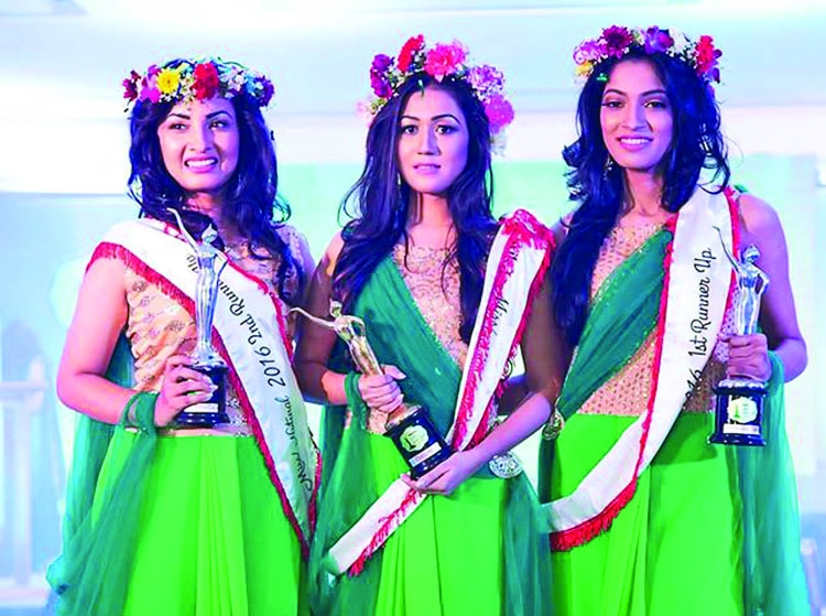 Jerin Moushan crowned