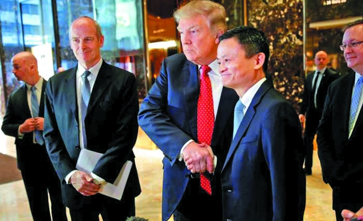 Alibaba chief offers one million jobs to US