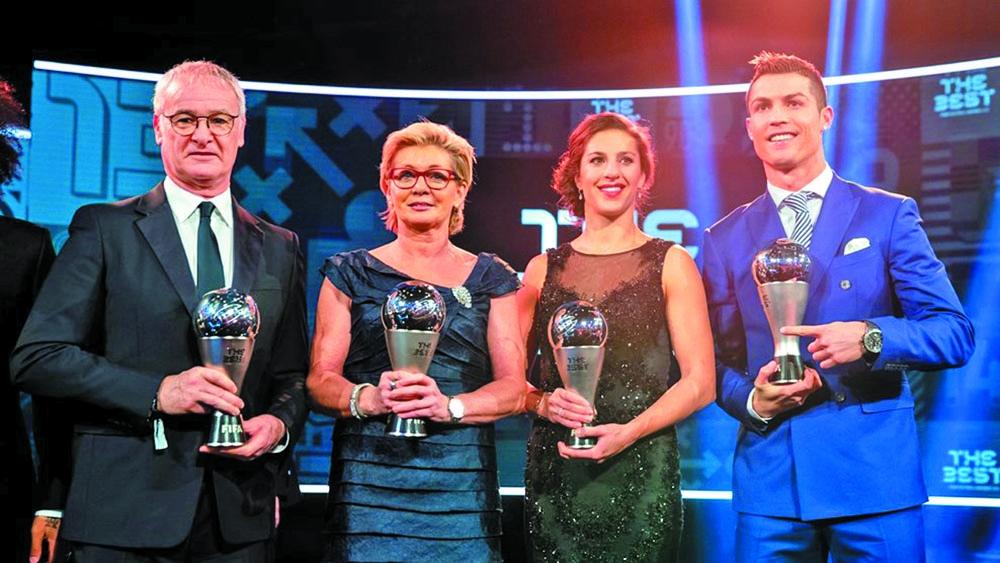 Ranieri and Neid win top FIFA awards