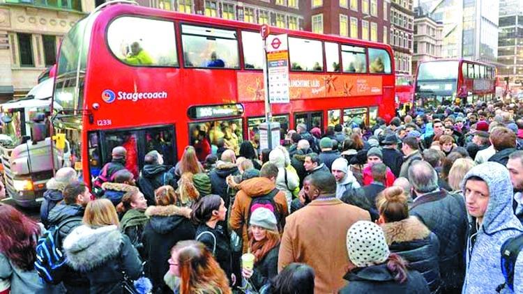 London Tube strike hits millions of people