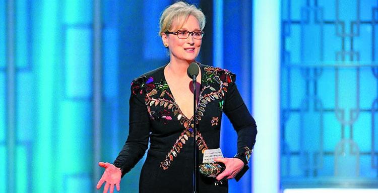 Where was Meryl Streep when Obama was  prosecuting whistleblowers & bombing weddings?