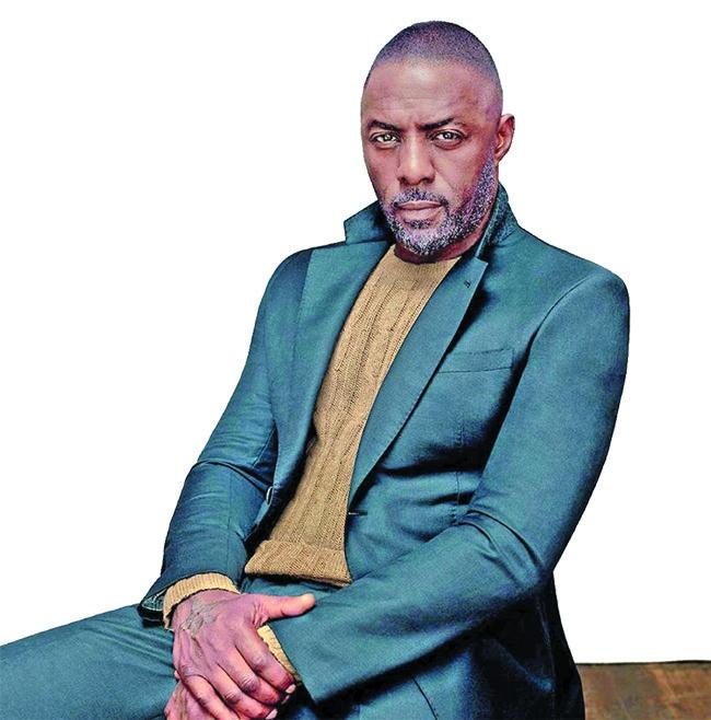 Idris Elba offers himself as a Valentine's date