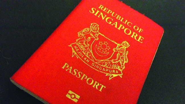 Singapore passport 2nd most powerful in the world