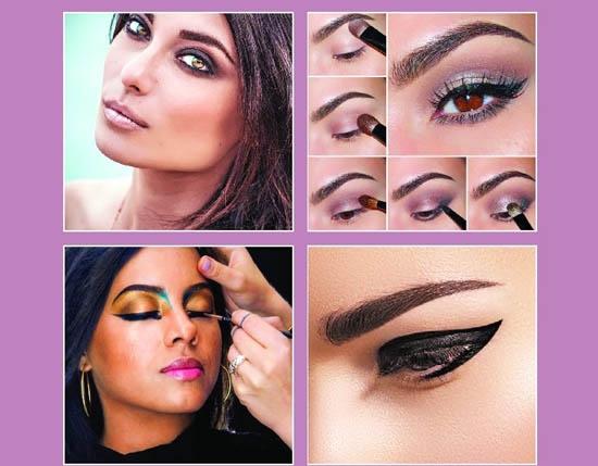 How to create eyeliner styles