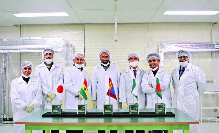 Brac students make nano satellite