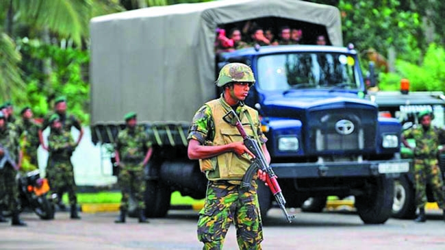 SL held 550 soldiers  in army clean-up