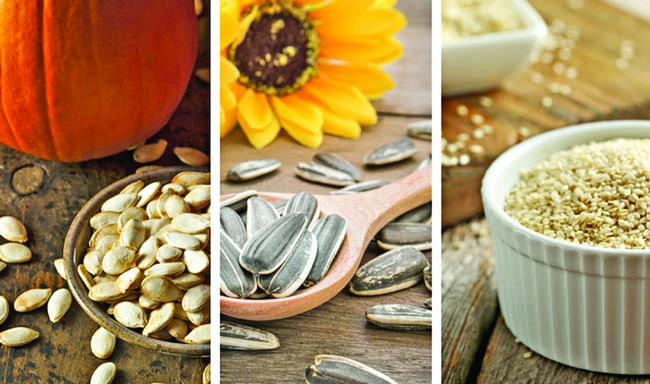 Five super seeds beneficial to your diet