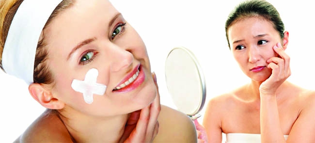 Skin care with new products