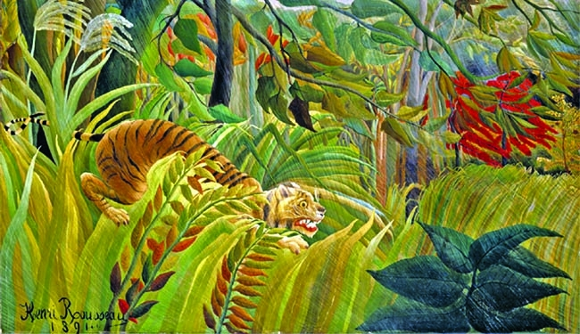 Things you should know about Henri Rousseau's  'Tiger In A Tropical Storm'