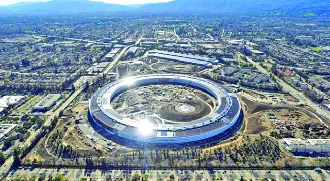 Apple's new $5b HQ to open in April