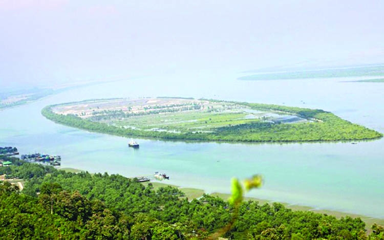Modern tourism park to be set up on Jaliardip in Teknaf