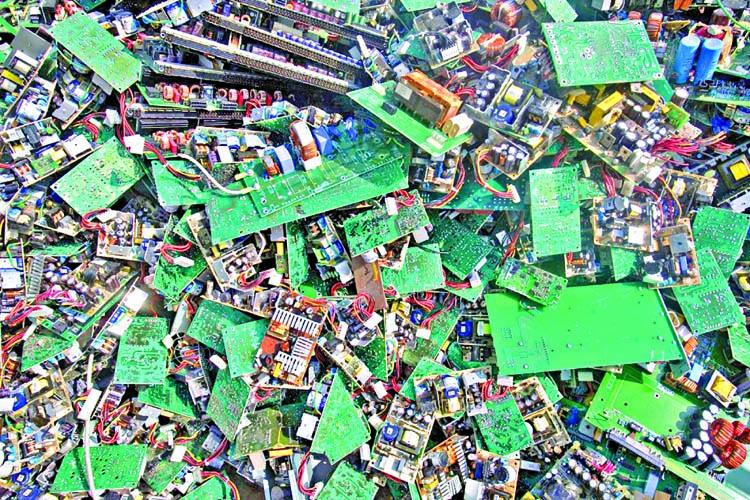 E-waste doubles