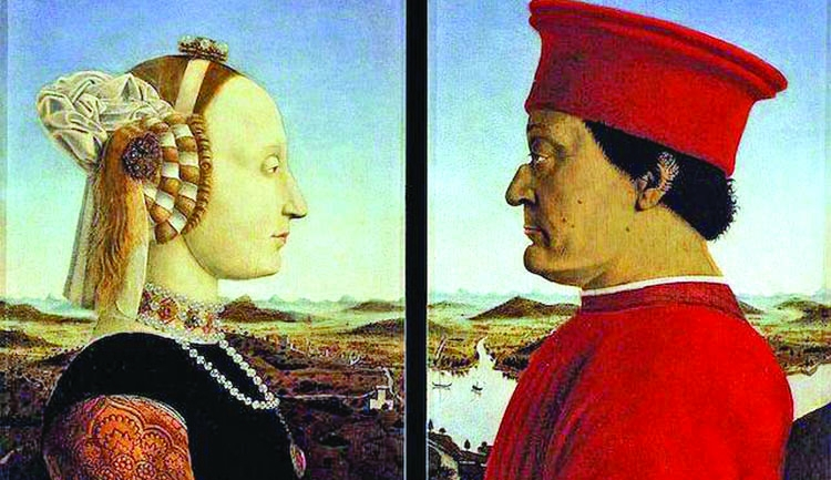 Facts about 'Portraits of the Duke and Duchess of Urbino'