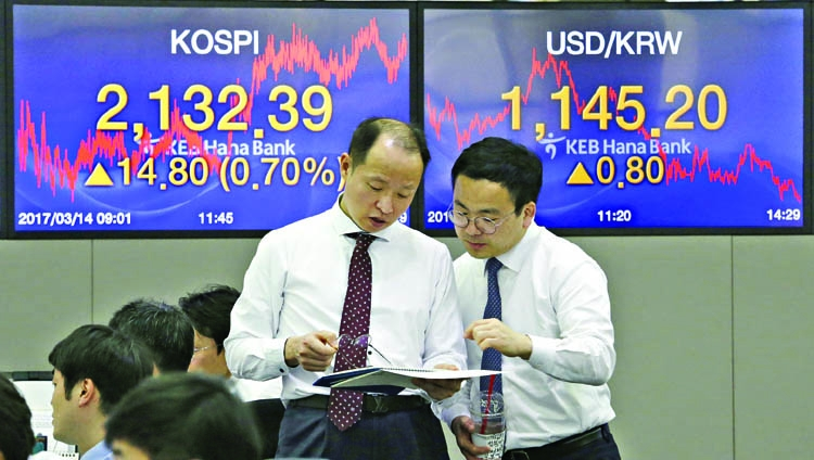 Asian stocks waiting for clearer view on US rates