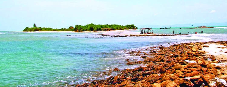 Steps to save Saint Martin's Island