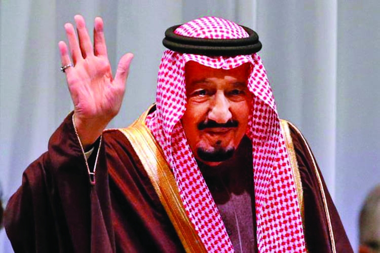 Saudi King ends Asia tour, returns home