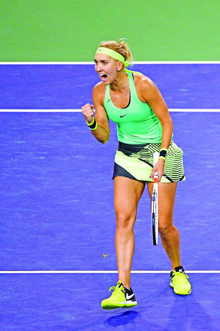 Vesnina, Kuznetsova set up all Russian Indian Wells final