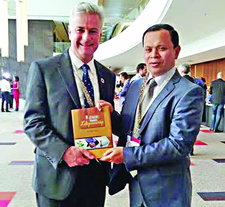 Sabur Khan joins Global Entrepreneurship Congress