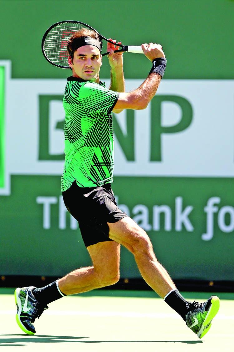 Federer, Wawrinka to meet in Indian Wells final